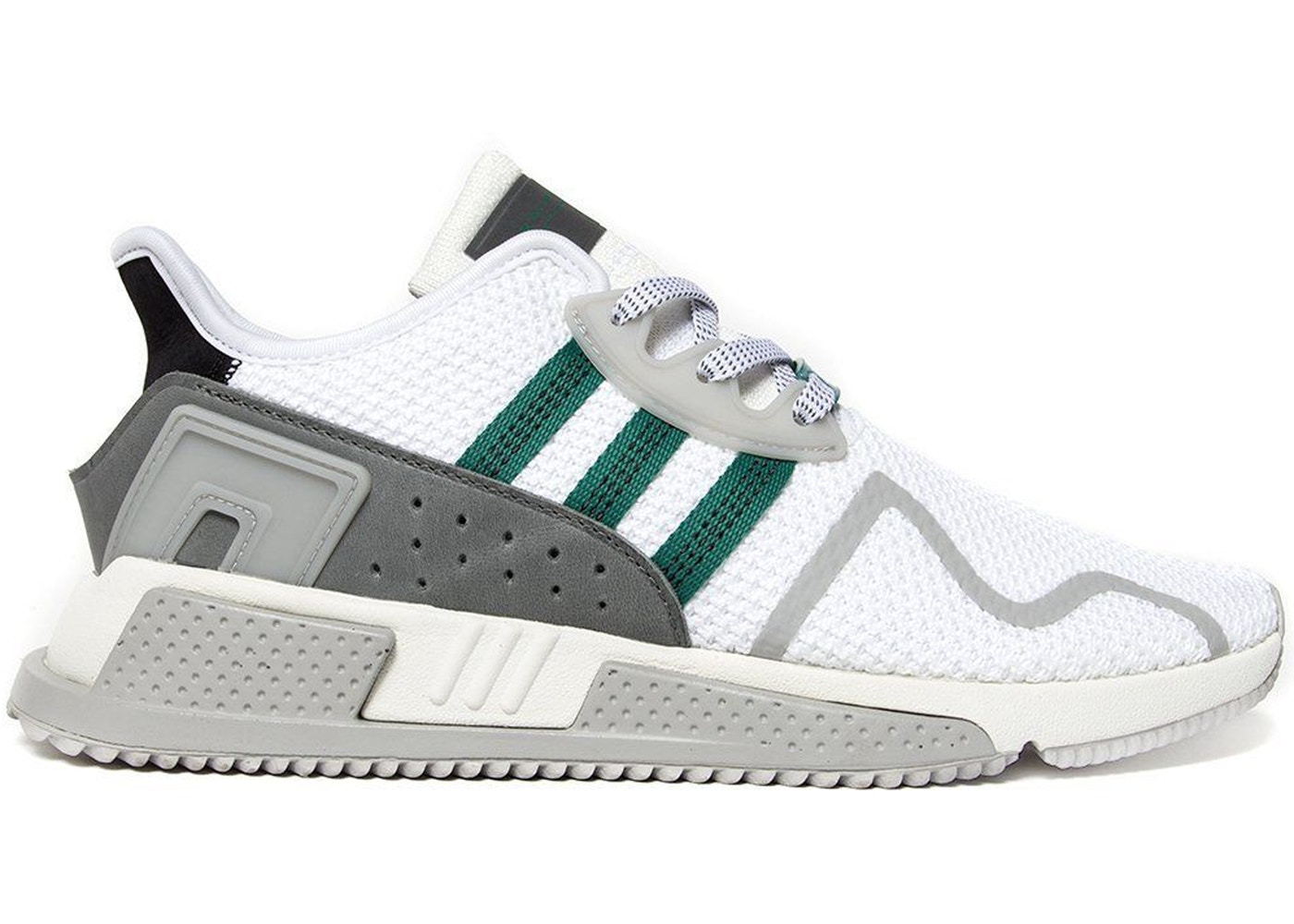 アディダス ADIDAS ノース スニーカー 【 EQT CUSHION ADV NORTH AMERICA GREEN CORE BLACK CHALK WHITE 】 メンズ