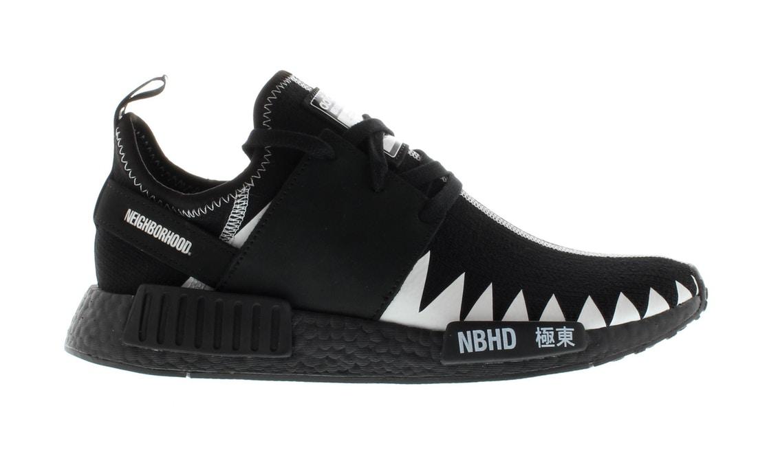 アディダス ADIDAS コア スニーカー 【 NMD R1 NEIGHBORHOOD CORE BLACK FOOTWEAR WHITE 】 メンズ