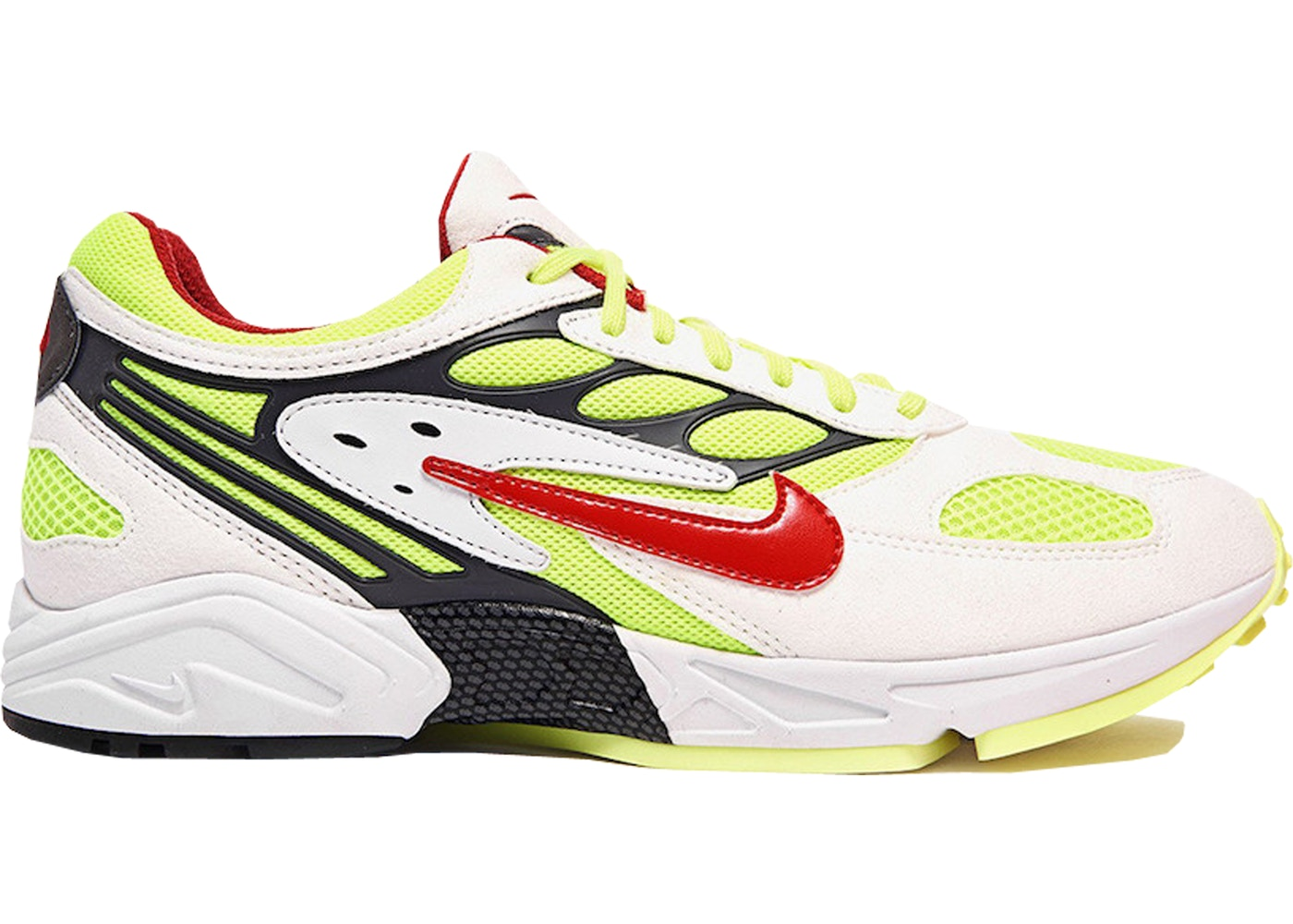 ナイキ NIKE エア 白 ホワイト 赤 レッド スニーカー 【 AIR WHITE RED GHOST RACER ATOM NEON YELLOW REDNEON YELLOWDARK GREYGYM 】 メンズ