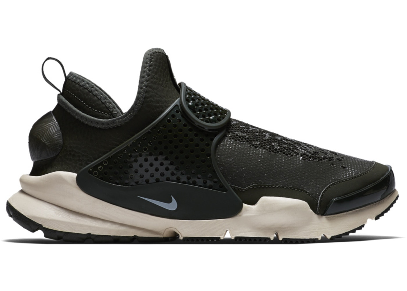 ナイキ NIKE ダート ミッド スニーカー 【 SOCK DART MID STONE ISLAND SEQUOIA LIGHT OREWOOD BROWN 】 メンズ