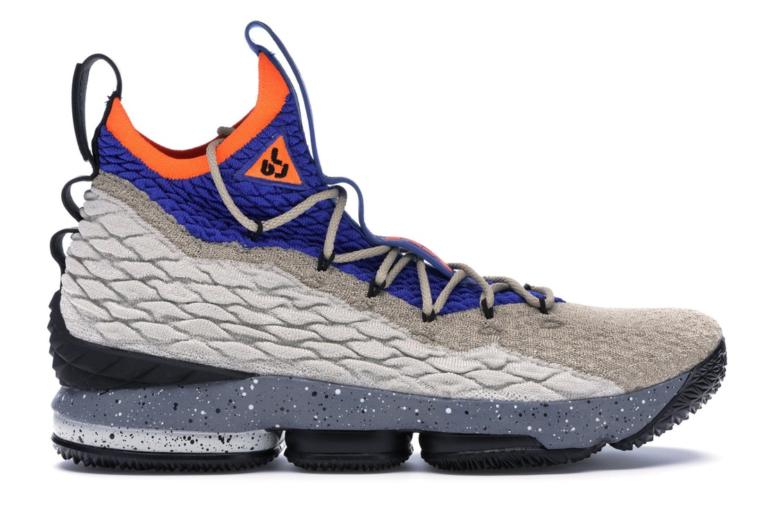 ナイキ NIKE レブロン スニーカー 【 LEBRON 15 MOWABB MULTICOLOR RACER BLUETOTAL ORANGE 】 メンズ