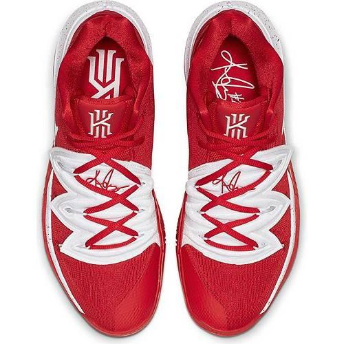 ナイキ NIKE カイリー バスケットボール スニーカー 運動靴 赤 レッド 白 ホワイト スニーカー 【 KYRIE RED WHITE NIKE 5 BASKETBALL SHOES 】 メンズ スニーカー