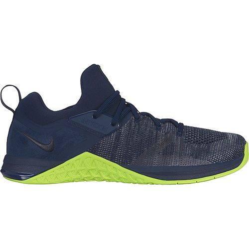 【スーパーセール中! 6/11深夜2時迄】ナイキ NIKE メンズ フライニット トレーニング スニーカー 運動靴 【 Mens Metcon Flyknit 3 Training Shoes 】 Grey/lime