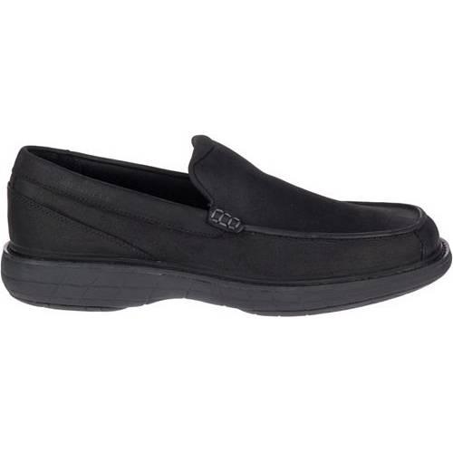 MERRELL メンズ スニーカー 運動靴 【 Mens World Vue Venetian Moc Casual Shoes 】 Black
