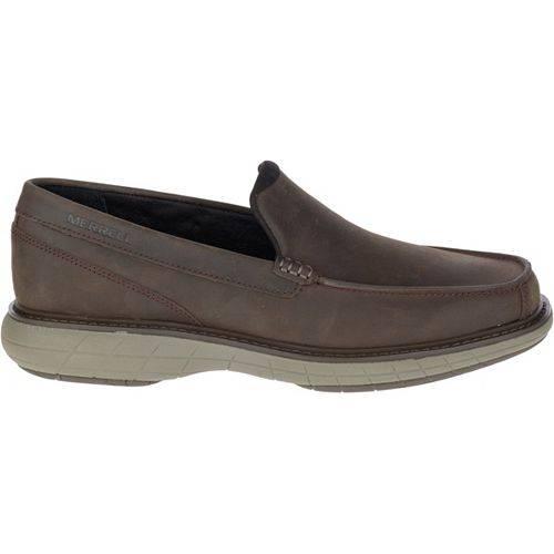 MERRELL メンズ スニーカー 運動靴 【 Mens World Vue Venetian Moc Casual Shoes 】 Black Slate
