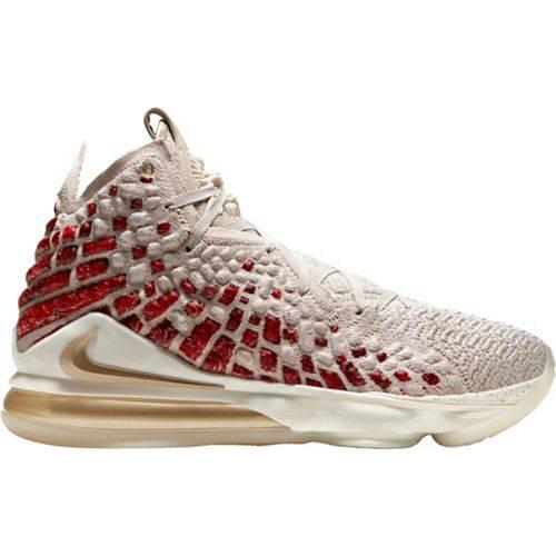 ナイキ NIKE レブロン バスケットボール スニーカー 運動靴 メンズ 【 Lebron 17 Prm Basketball Shoes 】 Desert Sand/metallic Gold