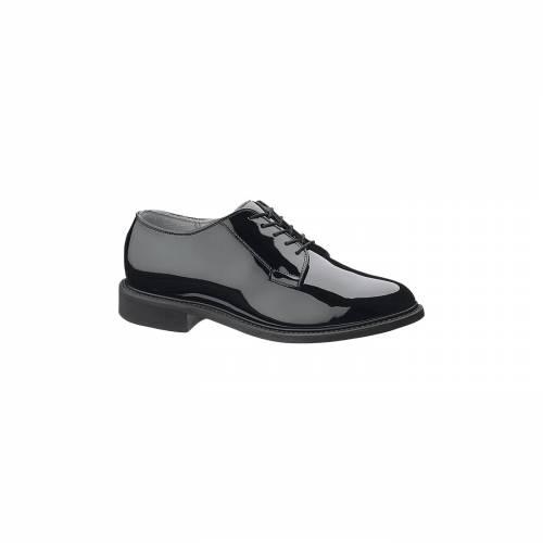 BATES ハイ オックスフォード スニーカー 運動靴 黒 ブラック MEN'S スニーカー 【 BLACK BATES HIGH GLOSS OXFORD SHOES 】 メンズ スニーカー