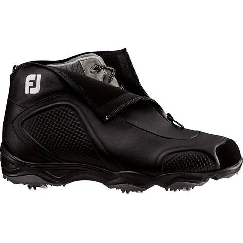 FOOTJOY カスケード ゴルフ 黒 ブラック スニーカー 【 GOLF BLACK FOOTJOY CASCADE CLEATED BOOTS 】 メンズ スニーカー