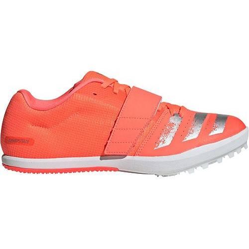 アディダス ADIDAS メンズ トラック フィールド スニーカー 【 Mens Jumpstar Track And Field Cleats 】 Red/silver