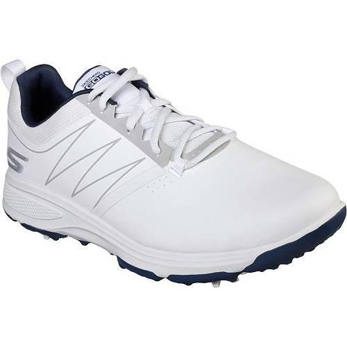 SKECHERS スケッチャーズ ゴルフ スニーカー 運動靴 白 ホワイト 紺 ネイビー MEN'S スニーカー 【 GOLF WHITE NAVY SKECHERS GO TORQUE SHOES 】 メンズ スニーカー