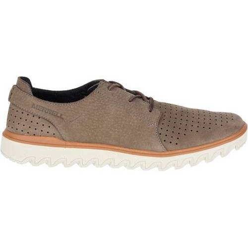 MERRELL メンズ スニーカー 運動靴 【 Mens Downtown Lace Casual Shoes 】 Stone
