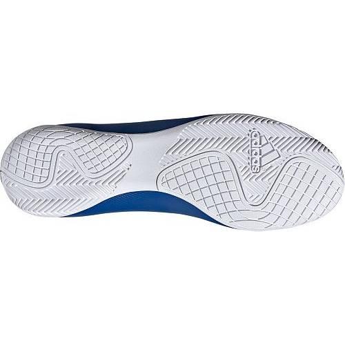 アディダス ADIDAS サッカー スニーカー 運動靴 青 ブルー 白 ホワイト MEN'S 19.4 スニーカー 【 SOCCER BLUE WHITE ADIDAS X INDOOR SHOES 】 メンズ スニーカー