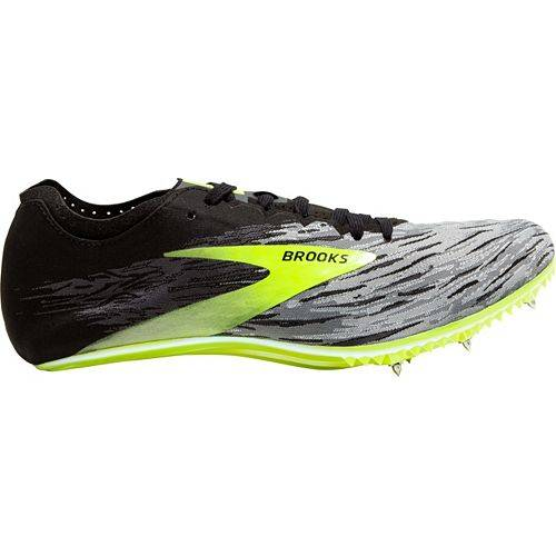 ブルックス BROOKS トラック フィールド スニーカー 運動靴 メンズ 【 Qw-k V4 Track And Field Shoes 】 Black/green