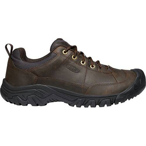 KEEN メンズ オックスフォード スニーカー 運動靴 【 Mens Targhee Iii Oxford Shoes 】 Dark Earth