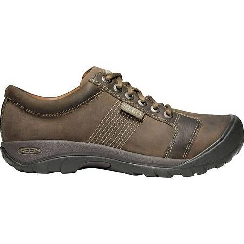 KEEN スニーカー 運動靴 MEN'S スニーカー 【 KEEN AUSTIN CASUAL SHOES BRINDLE BUNGEE CORD 】 メンズ スニーカー