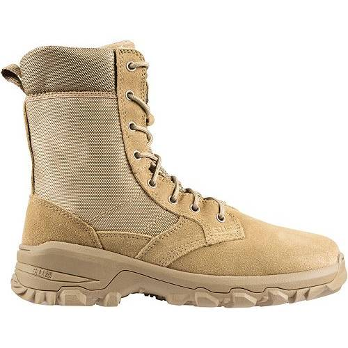5.11 TACTICAL メンズ スピード 3.0 ブーツ 【 Mens Speed 3.0 Coyote Side Zip Tactical Boots 】 Coyote