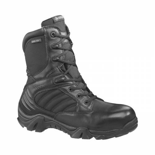 BATES メンズ ブーツ 【 Mens Gx-8 8 Gore-tex Composite Toe Side Zip Tactical Boots 】 Black