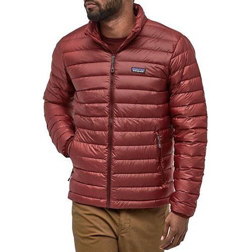 PATAGONIA メンズ ダウン メンズファッション コート ジャケット 【 Mens Down Sweater Jacket 】 Oxide Red