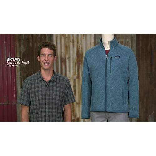PATAGONIA クラシック 紺 ネイビー MEN'S 【 NAVY PATAGONIA BETTER SWEATER CLASSIC 】 メンズファッション コート ジャケット
