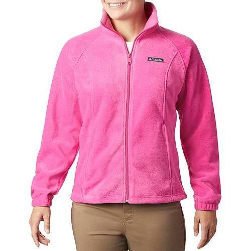 コロンビア COLUMBIA レディース ピンク 【 Womens Tested Tough In Pink Benton Springs Full Zip Jacket 】 Pink Ice