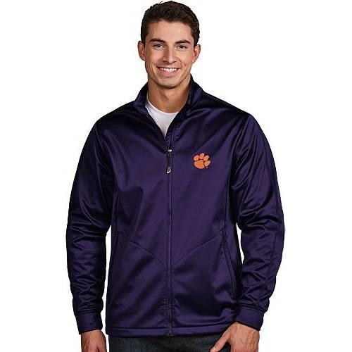 ANTIGUA メンズ タイガース パフォーマンス ゴルフ メンズファッション コート ジャケット 【 Mens Clemson Tigers Regalia Performance Golf Jacket 】 Color