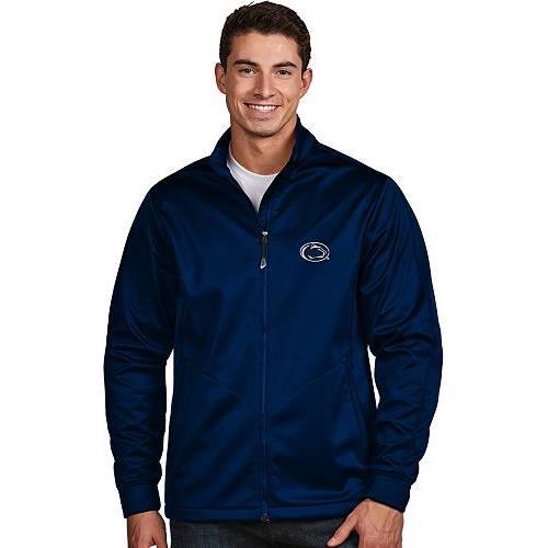 ANTIGUA メンズ スケートボード ライオンズ 青 ブルー パフォーマンス ゴルフ メンズファッション コート ジャケット 【 Mens Penn State Nittany Lions Blue Performance Golf Jacket 】 Color