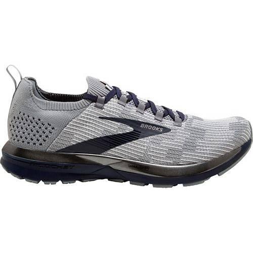 ブルックス BROOKS メンズ スニーカー 運動靴 【 Mens Ricochet 2 Running Shoes 】 Grey/navy