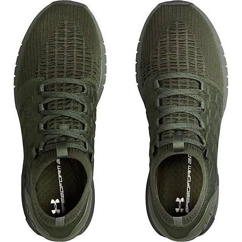 アンダーアーマー UNDER ARMOUR スニーカー 運動靴 緑 グリーン MEN'S スニーカー 【 GREEN UNDER ARMOUR HOVR PHANTOM RUNNING SHOES 】 メンズ スニーカー