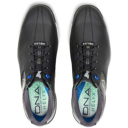 FOOTJOY ゴルフ スニーカー 運動靴 D.n.a. メンズ 【 D.n.a. Helix Golf Shoes 】 Black/silver