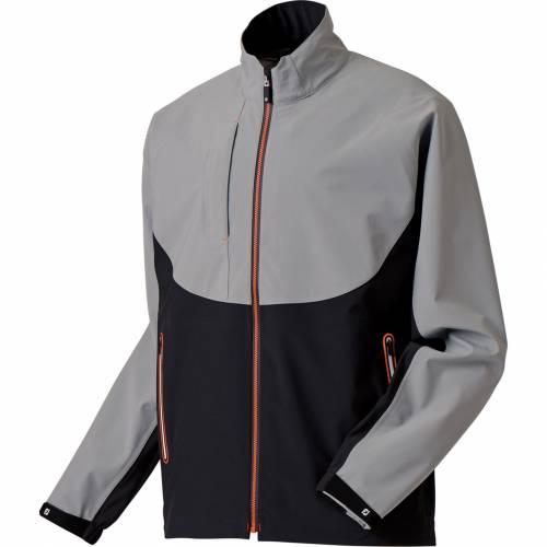 FOOTJOY メンズ ゴルフ メンズファッション コート ジャケット 【 Mens Dryjoys Tour Lts Rain Golf Jacket 】 Steel Grey/black