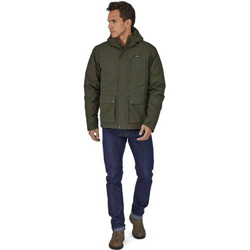 PATAGONIA メンズ ダウン メンズファッション コート ジャケット 【 Mens Topley Down Jacket 】 Alder Green
