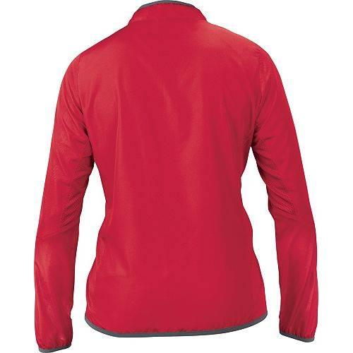 【★スーパーセール中★ 6/11深夜2時迄】EASTON SPORTS レディース バッティング 【 Easton Womens M5 Cage Batting Jacket 】 Red/charcoal