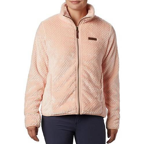 【★スーパーセール中★ 6/11深夜2時迄】コロンビア COLUMBIA レディース 【 Womens Fire Side Ii Sherpa Full Zip Jacket 】 Peach Cloud