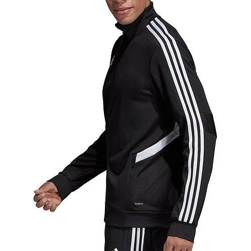 アディダス ADIDAS メンズ サッカー トレーニング メンズファッション コート ジャケット 【 Mens Tiro 19 Soccer Training Jacket 】 Black
