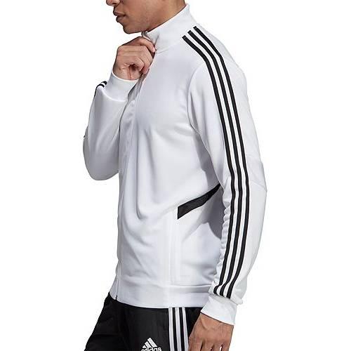 アディダス ADIDAS メンズ サッカー トレーニング メンズファッション コート ジャケット 【 Mens Tiro 19 Soccer Training Jacket 】 White