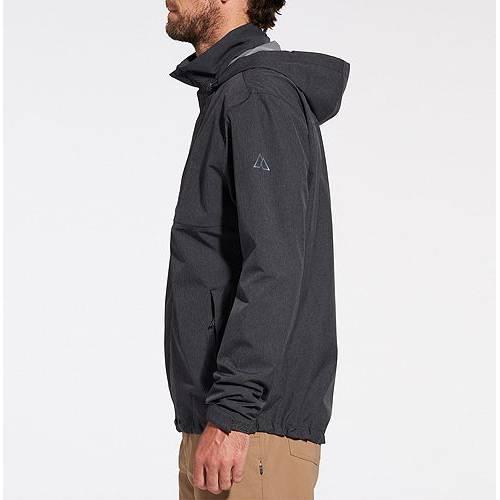 ALPINE DESIGN MEN'S 【 ALPINE DESIGN ALTITUDE RAIN JACKET ANTHRACITE 】 メンズファッション コート ジャケット