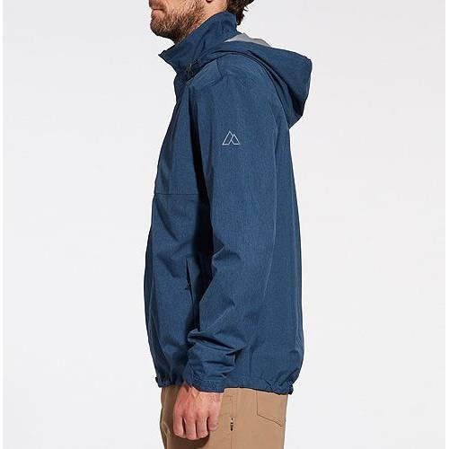 ALPINE DESIGN メンズ メンズファッション コート ジャケット 【 Mens Altitude Rain Jacket 】 Insignia Blue