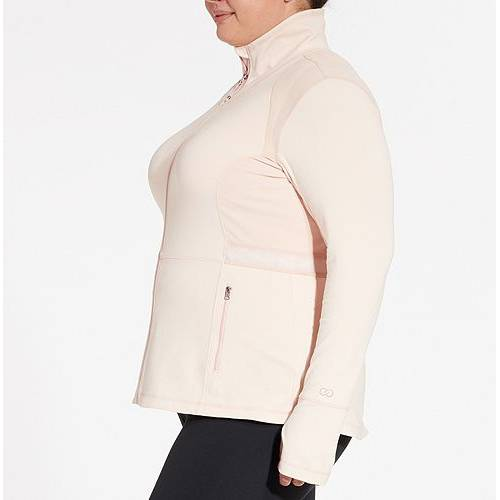 CALIA BY CARRIE UNDERWOOD レディース コア フィットネス 【 Womens Plus Size Core Fitness Jacket 】 Peach Whip