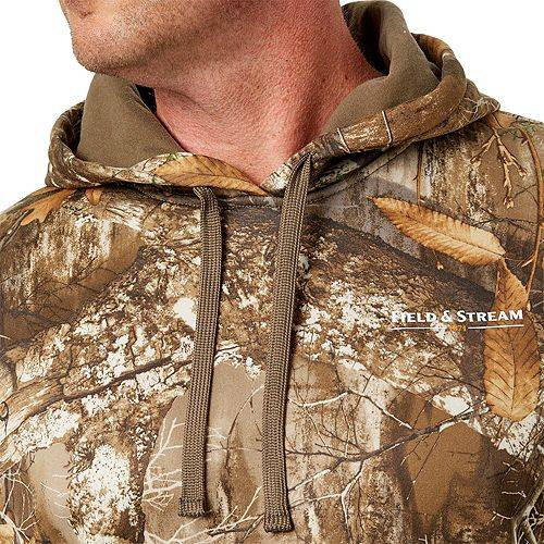 FIELD & STREAM フィールド メンズ パフォーマンス フリース メンズファッション トップス パーカー 【 Field And Stream Mens Performance Fleece Camo Hoodie (regular And Big And Tall) 】 Realtree Edge