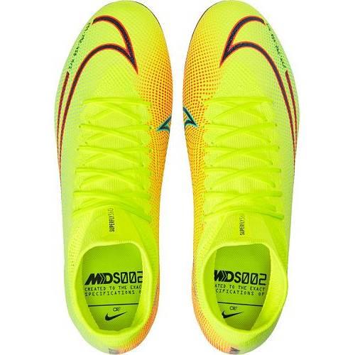 ナイキ NIKE プロ サッカー スニーカー メンズ 【 Mercurial Superfly 7 Pro Mds Fg Soccer Cleats 】 Lemon Venom/black/aurora Green