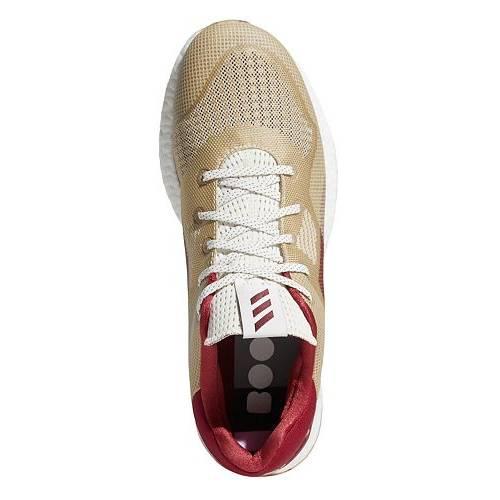 アディダス ADIDAS メンズ ゴルフ スニーカー 運動靴 【 Mens Crossknit Dpr Golf Shoes 】 White/burgundy