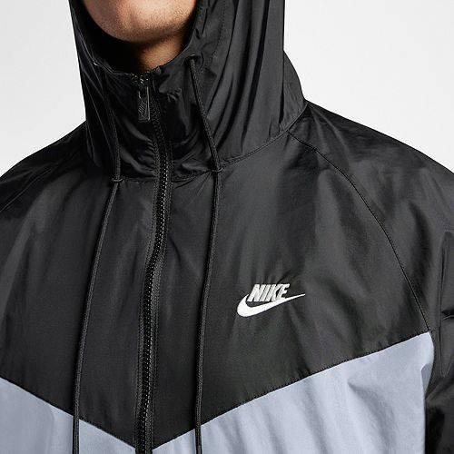ナイキ NIKE メンズ ウィンドランナー メンズファッション コート ジャケット 【 Mens Sportswear 2019 Hooded Windrunner Jacket (regular And Big And Tall) 】 Obsdn Mst/blck/blu Frc/sl