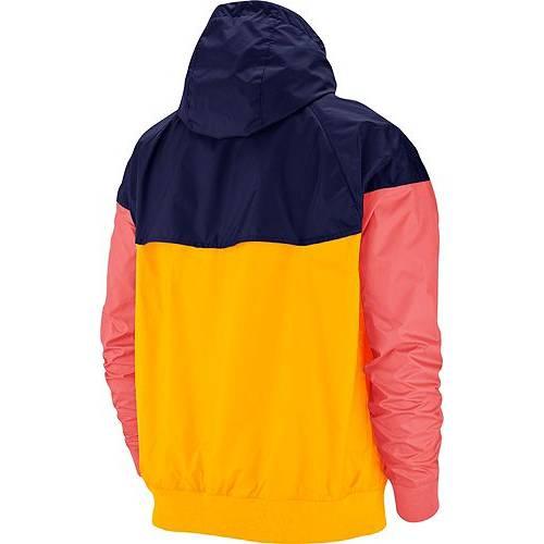 ナイキ NIKE メンズ ウィンドランナー メンズファッション コート ジャケット 【 Mens Sportswear 2019 Hooded Windrunner Jacket (regular And Big And Tall) 】 University Gold