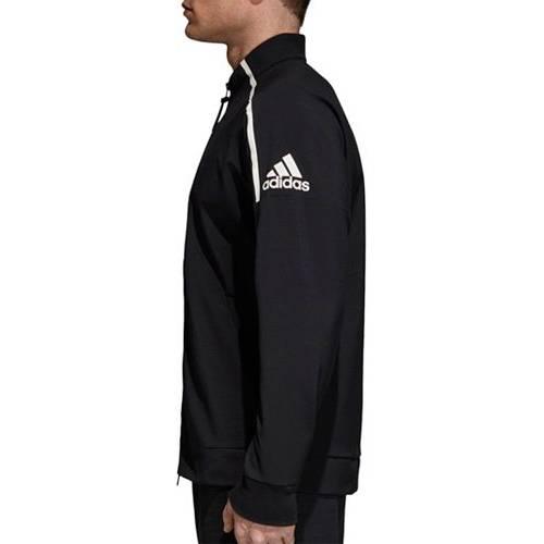 アディダス ADIDAS トラック 黒 ブラック MEN'S Z.N.E. 【 BLACK ADIDAS TRACK JACKET 】 メンズファッション コート ジャケット