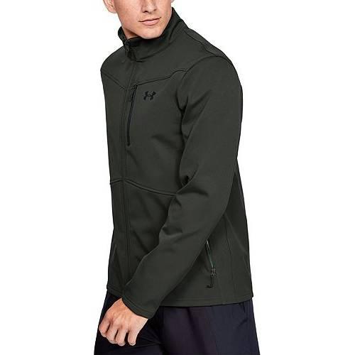 アンダーアーマー UNDER ARMOUR メンズ メンズファッション コート ジャケット 【 Mens Softshell Jacket (regular And Big And Tall) 】 Baroque Green