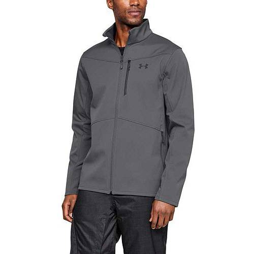 アンダーアーマー UNDER ARMOUR メンズ メンズファッション コート ジャケット 【 Mens Softshell Jacket (regular And Big And Tall) 】 Graphite