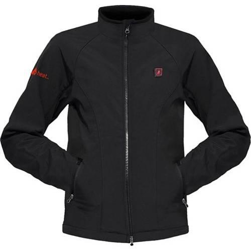 ACTIONHEAT メンズ メンズファッション コート ジャケット 【 Mens 5v Battery Heated Softshell Jacket 】 Black