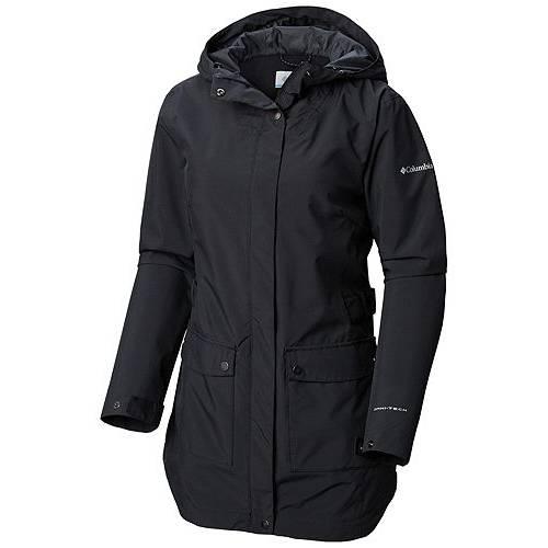 【★スーパーセール中★ 6/11深夜2時迄】コロンビア COLUMBIA レディース 【 Womens Here And There Trench Rain Jacket 】 Black