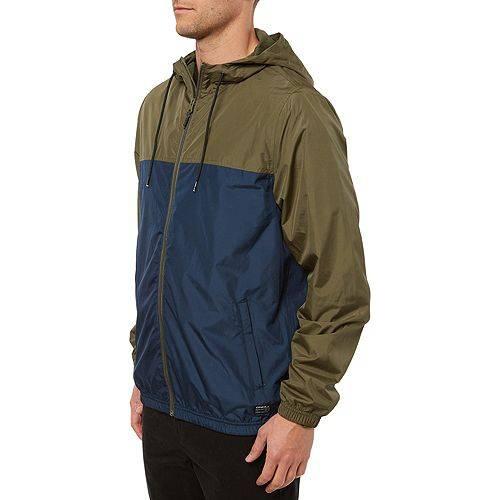 O'NEILL メンズ ウィンドブレーカー メンズファッション コート ジャケット 【 Mens Del Ray Windbreaker Jacket 】 Navy