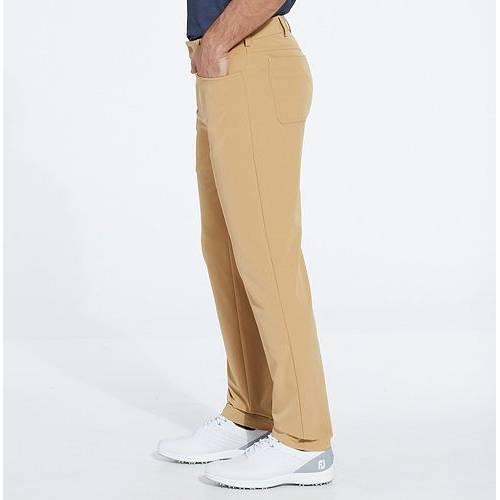 WALTER HAGEN メンズ スリム ゴルフ メンズファッション ズボン パンツ 【 Mens 5 Pocket Slim Fit Golf Pants 】 Golden Khaki